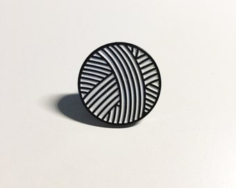 Yarn Ball Enamel Pin