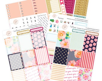 5 Dollar Friday!! Planner Sticker Kits / Planner Stickers / Erin Condren Planner Stickers / Weekly Sticker Kit / WK5