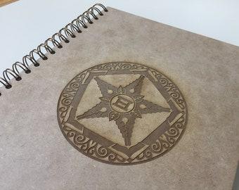 Custom Laser Engraved Journal (Ghen)