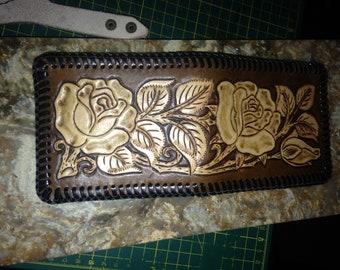 Chocolate rose wallet