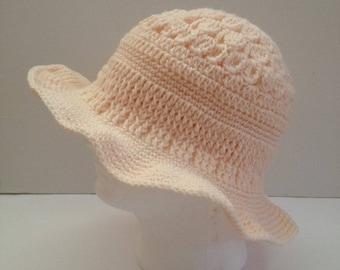 woman's floppy hat, women's hat, crochet bucket hat, winter beanie hat, brim cloche hat, wide brim hat, bridesmaid gift, gift for her,