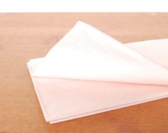 pink tissue paper: blush gift wrap, tissue, stuffing