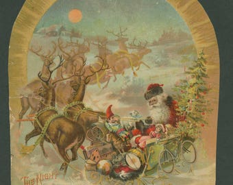 The Night Before Christmas - McLoughlin Bros