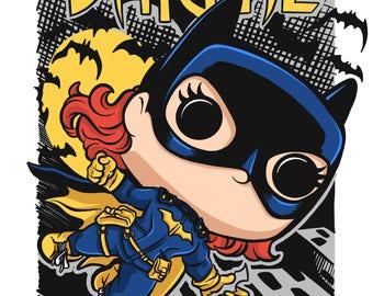 Burnside Batgirl Poster