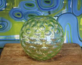 Vintage 1970's  Bubble Glass vase/ terrarium