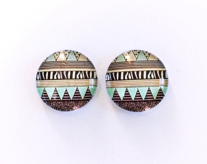 The 'Penelope' Glass Earring Studs