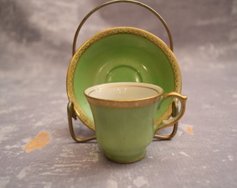 Demitasse Tea Cup and Saucer from Occupied Japan