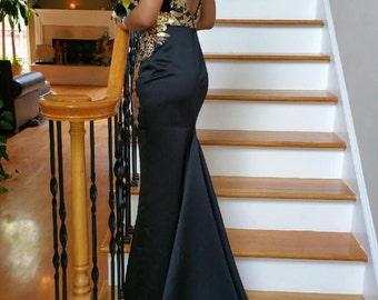 Designer Evening Dress - Made-to-Measure- Custom Made