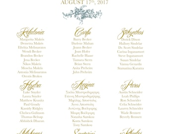 Seating Chart   Wedding, Rehearsal Dinner, Corporate Event