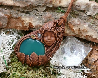 Fairy of Healing Necklace, Fantasy Necklace, Woodland Necklace, Magic Necklace, Garden Necklace, Healing Necklace, Forest Spirit