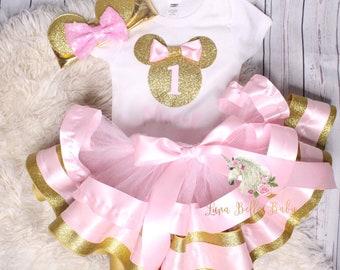 Minnie Mouse ribbon tutu