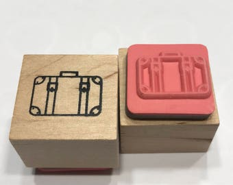 small Suitcase rubber stamp, 20 mm (BB4/2)
