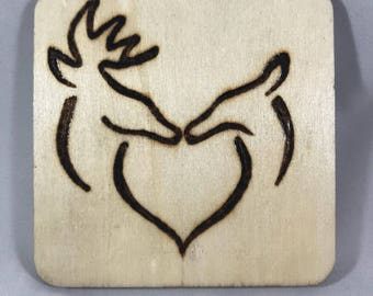 Buck and Doe Wood Tile