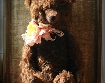 PDF Epattern for 14 inch Artist Mohair Traditional Style Bear Chocolate by Sasha Pokrass
