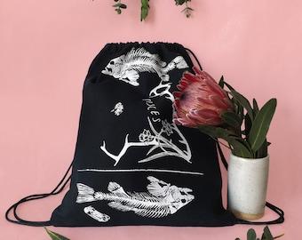 PISCES Drawstring Backpack