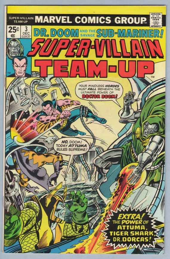 Super-Villain Team-Up 3 Dec 1975 VF (8.0)
