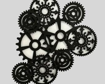 Gear Art (black)