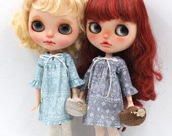 Girlish - Bohemia Dress Set for Blythe doll - dress / outfit