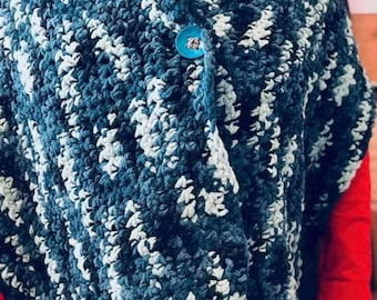 The Cozy Chenille Shawl X-large