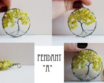 Serpentine Tree of Life Pendant