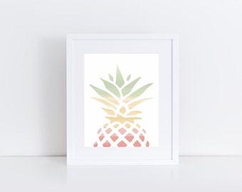 Pineapple Hues 1 (8x10)