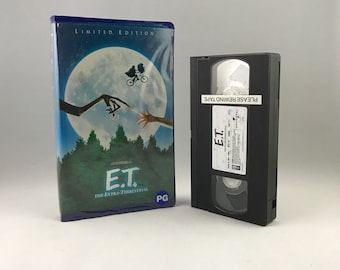 ET: The Extra Terrestrial VHS - Special Edition Remastered
