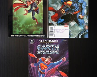 Superman Collection - Six issues including two No. 1 comic books!