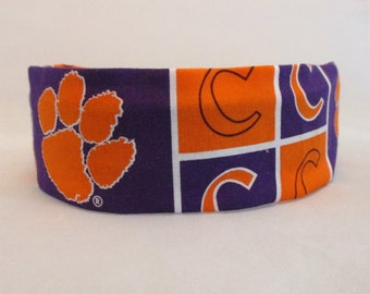 Clemson  Dog Collar Cover