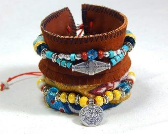 Aztec Cuff Bracelet