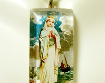 Our lady of the sea pendant with chain - GP12-072