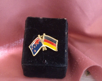 REDUCED  Flag push Pin, Germany and New Zealand