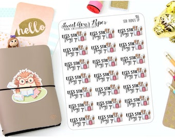 Baking Planner Stickers - Baking Stickers - Kitchen Planner Stickers - Let's Stir Things Up - Cooking Stickers - Pun Stickers - 986