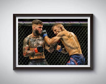 MMA Mixed Martial Arts Inspired Art Poster Painting Print 6