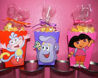 Dora The Explorer Snack Boxes - Set of 10