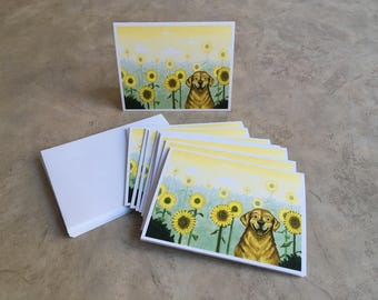 Happy Dog Note Cards