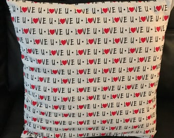 Valentine Pillow Cover