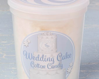 Wedding Cake Cotton Candy