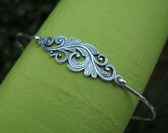 Bracelet - Bangle - Silver Bracelet - Silver Bangle - Bracelets For Women - Sterling Silver Bangle Bracelet