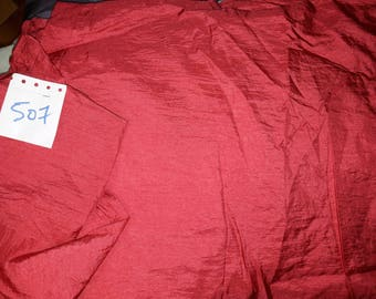 No. 507 - POLYESTER fabric PLEATED red ROSE - perfect party clothing