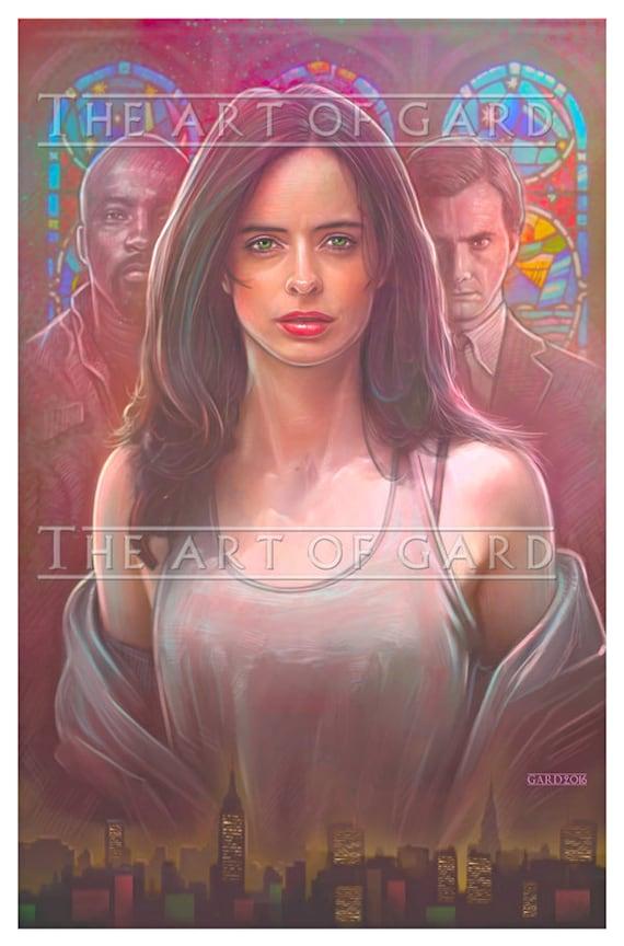 Jessica Jones, Netflix 11X17 Art Print