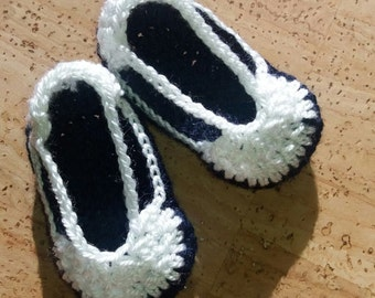 Crochet baby slippers,Crochet  baby shoes,