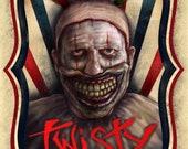 Twisty The Cown -  A5 Siz...