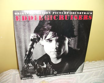 Eddie and the Cruisers Soundtrack Vinyl Record Album NEAR MINT condition