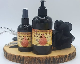 Dragon's Blood Lotion, Natural Lotion, Organic Lotion, Body Lotion, Hand Lotion