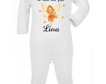 Pajamas baby there was once personalized with name