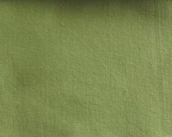 ECO CHIC DENIM Fern Green enviroment friendly fabric