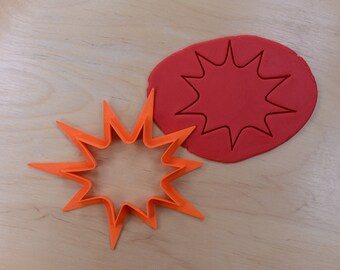 Comic Book Pow #2 Cookie Cutter Outline