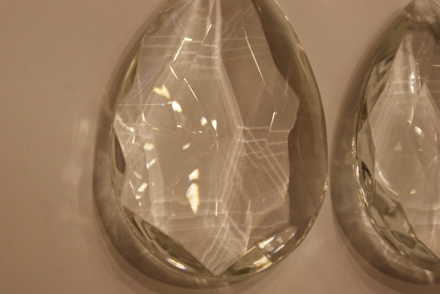 1 pcs clear teardrop chandelier crystals chandelier prism crystals sold by leonardovintage arubaitofo Image collections