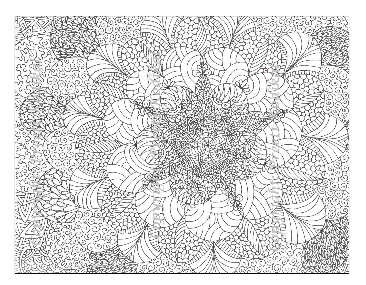 zoom - Mehndi Patterns Colouring Sheets
