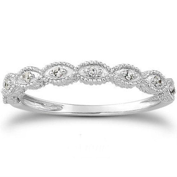 Vintage Diamond Ring 110CT Wedding Ring Womens Antique Style